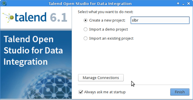 ETL with Talend and Docker